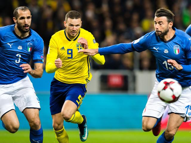 Bildextra: Sverige-Italien – första halvlek