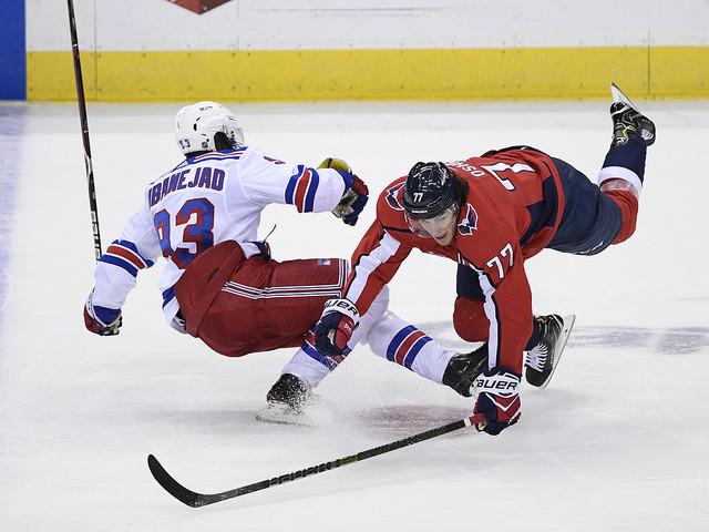 Washington slog Rangers i förlängning