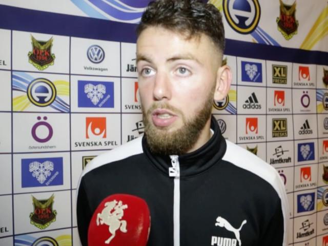 """Målskytten Erdal Rakip efter Östersundsmatchen: """"Vill de tycka att de är bäst får de tycka det"""""""