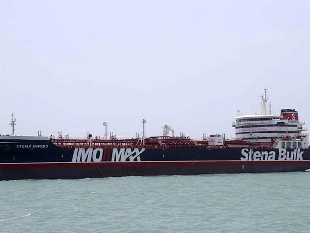 Iran: Besättningen mår bra