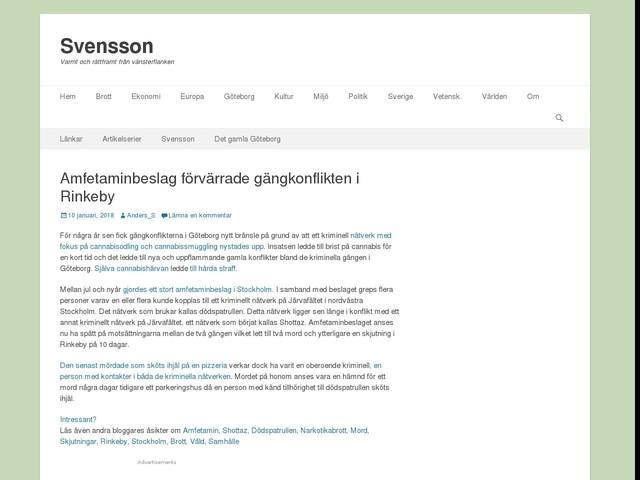 Amfetaminbeslag förvärrade gängkonflikten i Rinkeby