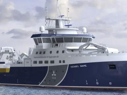 SLU:s forskningsfartyg ska heta Svea