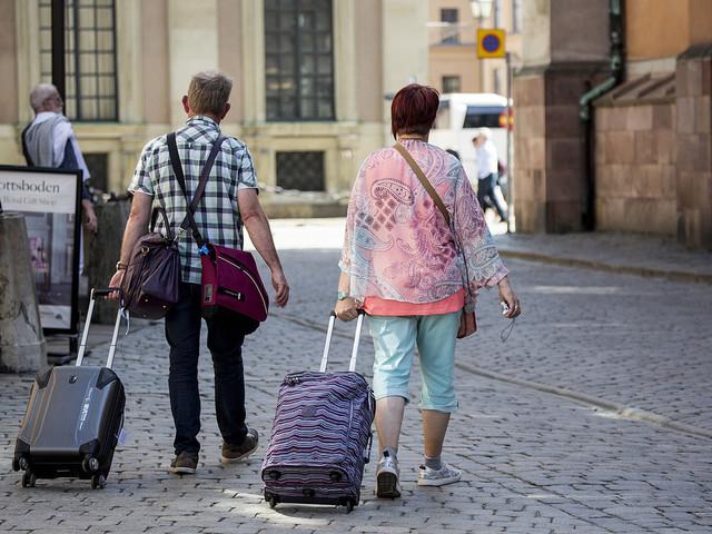 Turistjobben blir allt fler