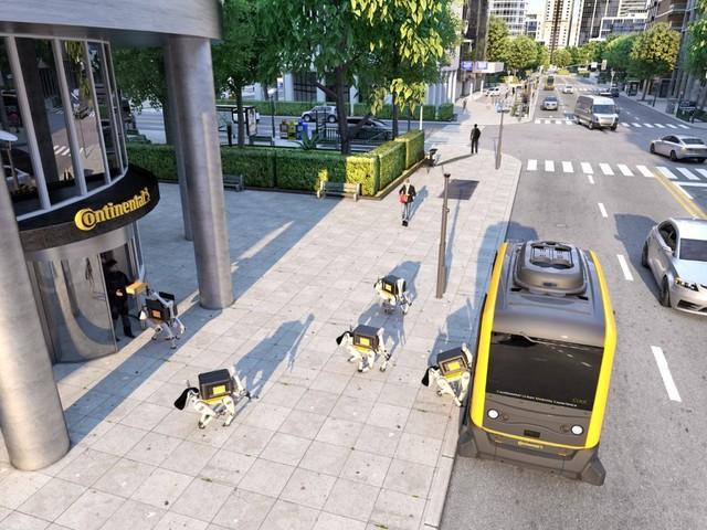 Robothundar ska leverera hem paket – kan gå i trappor och ringa på dörrklockan