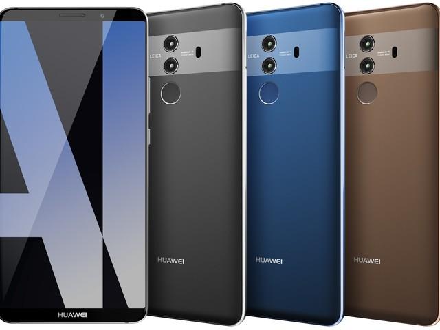 Huawei lanserar toppmodellen Mate 10 Pro