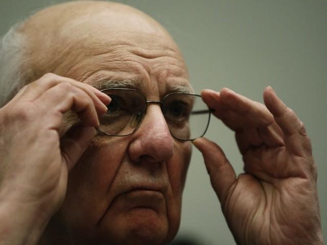 Förre Fed-chefen Volcker död