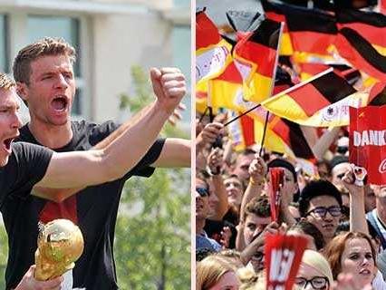 """Tyskarna sågas efter """"smaklöst"""" firande"""