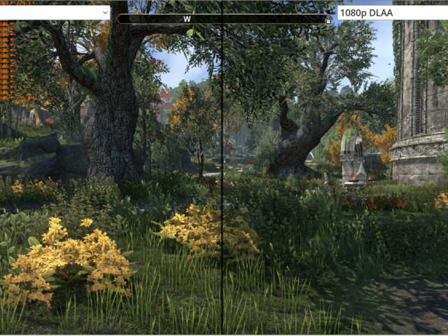 Nvidia DLAA ökar bildkvaliteten med AI-baserad kantutjämning
