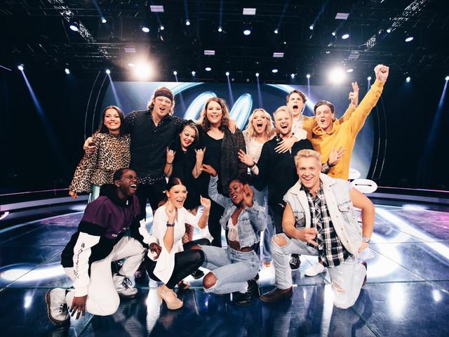 """Här är finalisterna i """"Idol"""""""