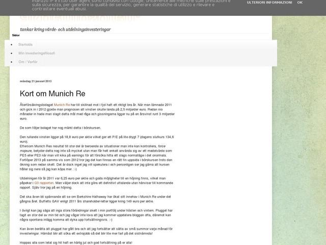 Kort om Munich Re