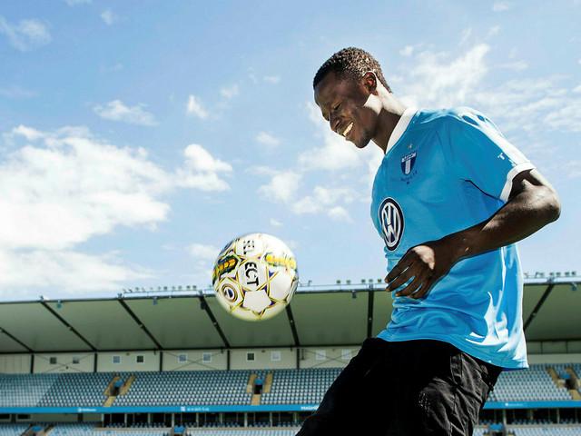 Nu närmar sig Bonke Innocent debuten i Malmö FF