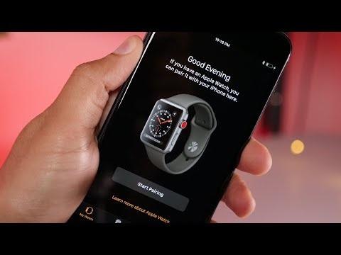 Det verkar som om Apple Watch får stöd för LTE