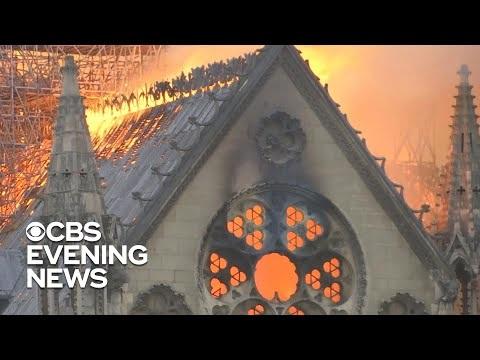 Notre-Dame drabbad av kraftig brand