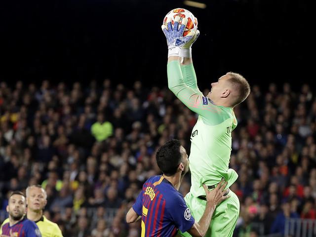 Barcelona utan ter Stegen i cupfinalen