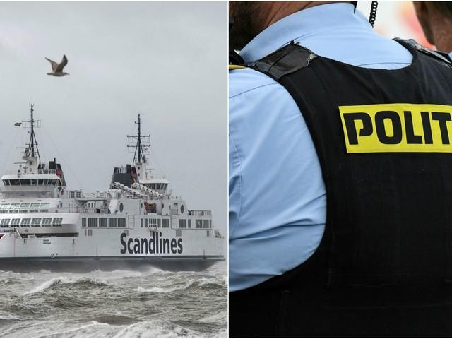 Misstänkt yxman jagades på Själland – polisen bevakade färjorna mot Helsingborg