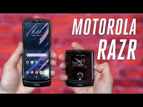 The Verge kikar på Motorola Razr