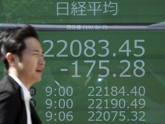 Glädjeskutt på Asiens börser