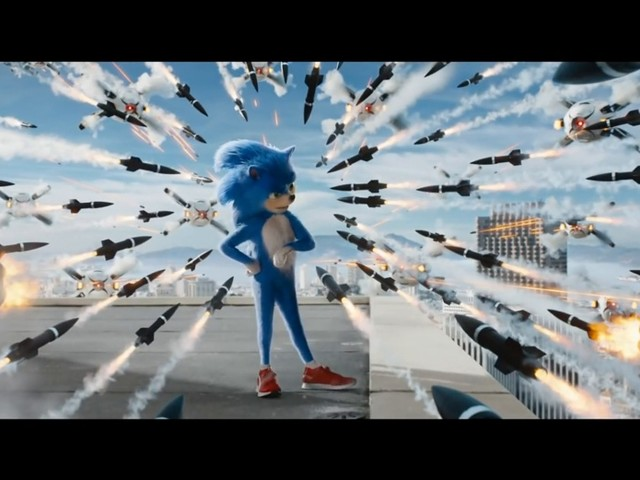 Sonic the Hedgehog-filmen skjuts upp