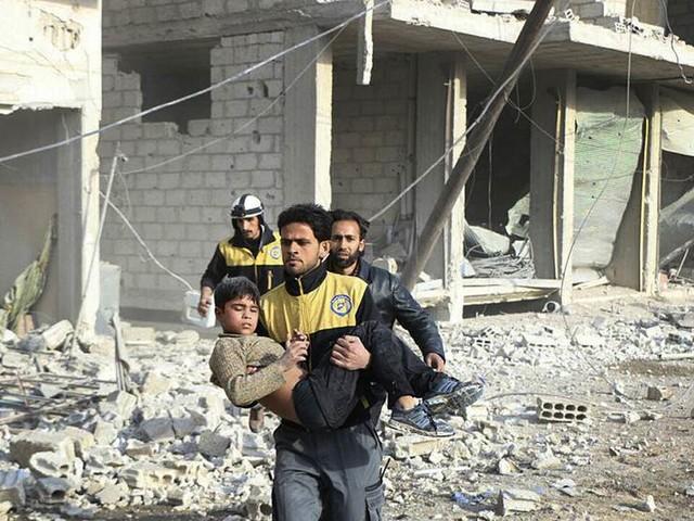 Sverige vill rösta om vapenvila i Syrien