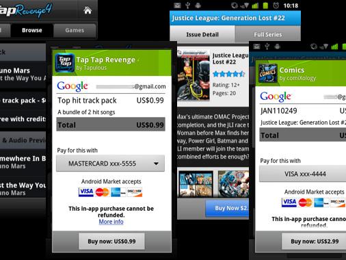 Android Market upphör sista juni