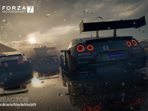 Xbox One X-stöd till Forza Motorsport 7 vid konsolpremiären