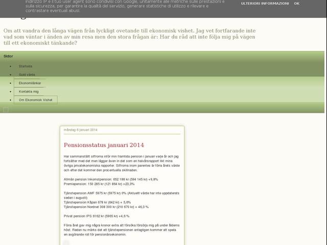 Pensionsstatus januari 2014
