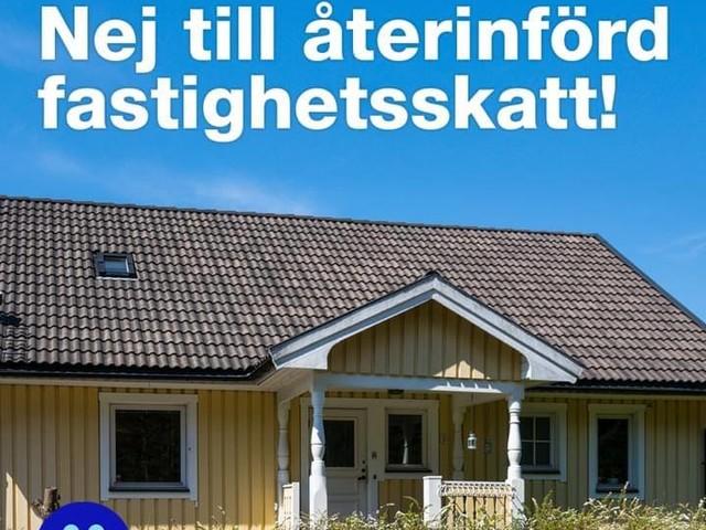 Hög tid för (S) i Umeå och Västerbotten att bekänna färg i frågan om återinförd fastighetsskatt!