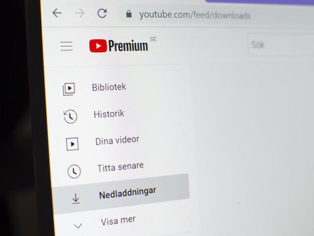 Youtube Premium-prenumeranter får testa nedladdning av videor till datorer
