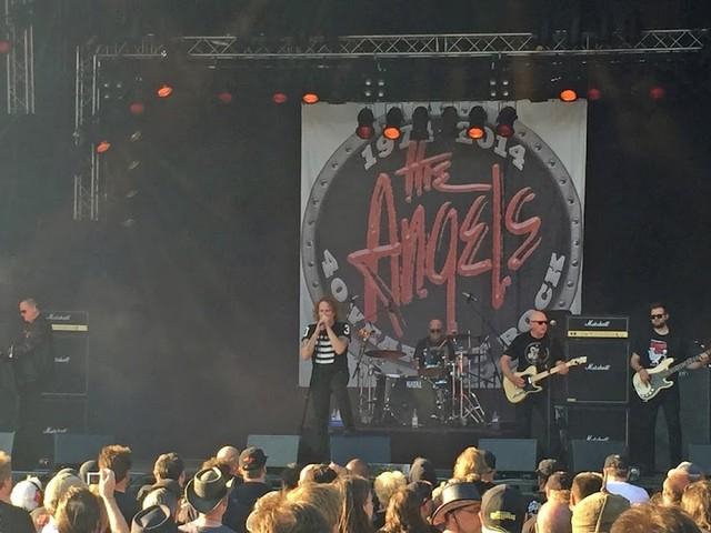 The Angels på Sweden Rock Festival
