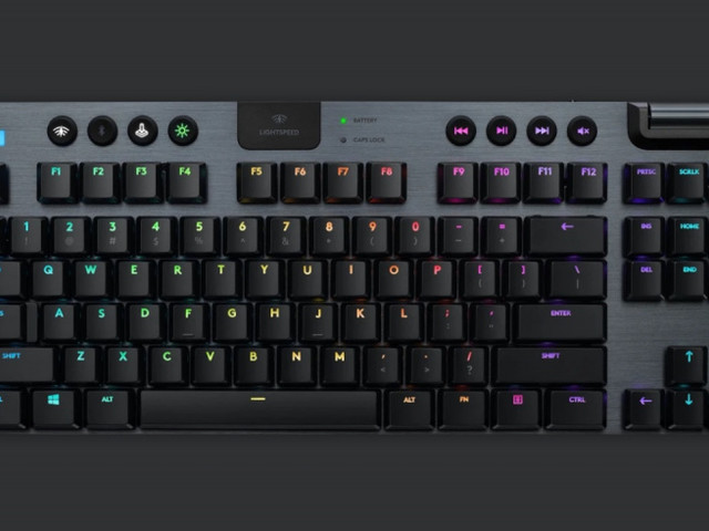 Logitech avtäcker G915 TKL – trådlöst och kompakt tangentbord