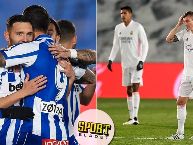 La Liga-knallen: Besegrade Real