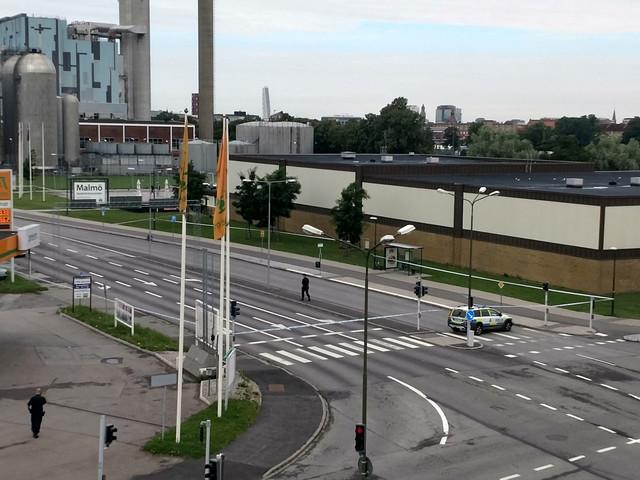 19-åring gripen för mordförsök på Eriksfältsgatan