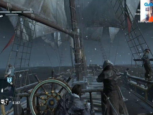 GRTV spelar Assassin's Creed Rogue Remastered
