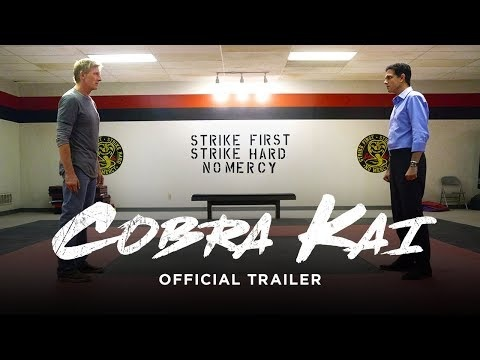 Officiell trailer för Cobra Kai