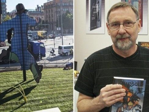 Fantomenförfattaren Claes Reimerthi är död