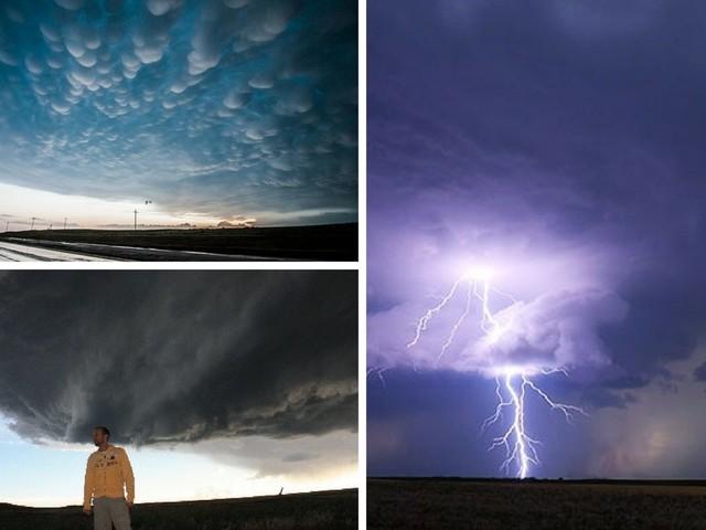 Christoffer jagar tornados i USA