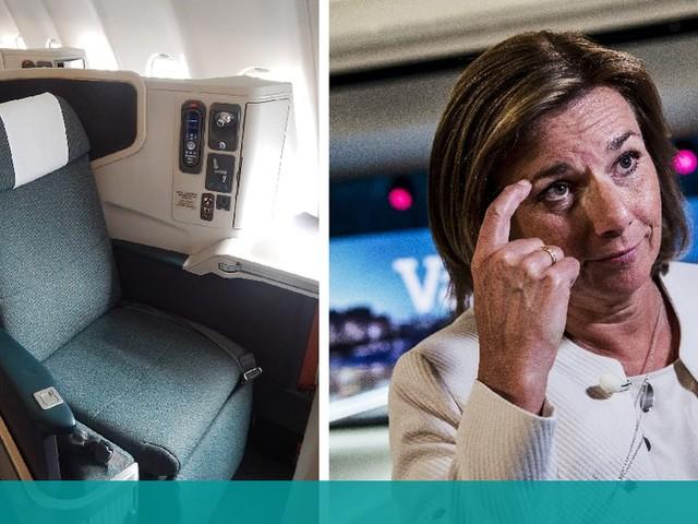 Kilmatministerns dyra flygnota – väljer ofta business class