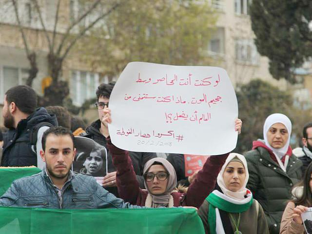 Aleppo-bo om Ghouta: Jag dör hundra gånger om