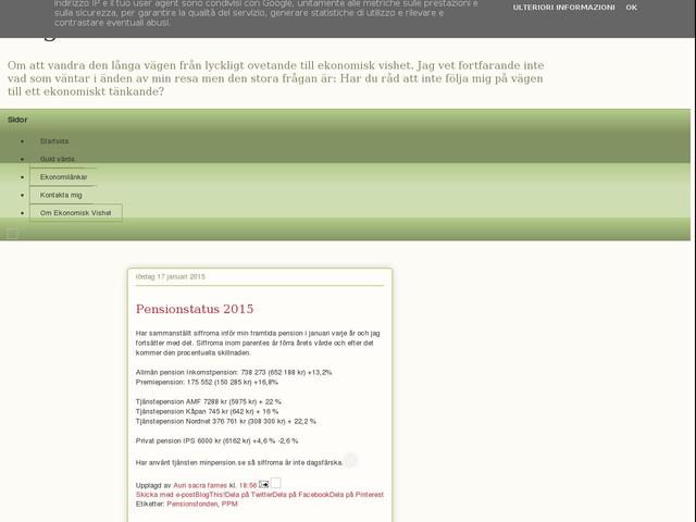 Pensionstatus 2015