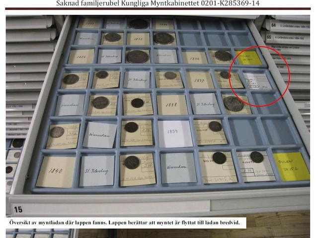 Åtalad museianställd sålde mynt för miljoner