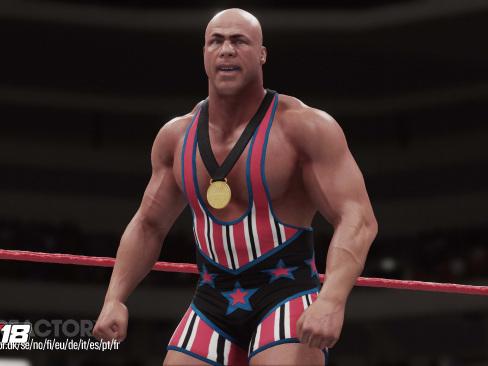 Första gameplay-trailern från WWE 2K18