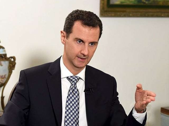 Senaste intervjun med Assad