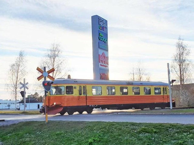 Hisnande rekord för rälsbussen
