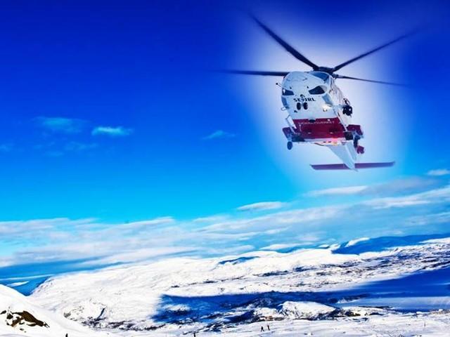 Fjällräddningarna ökar i länet