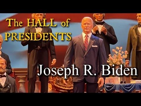 Disney visar upp sin Joe Biden-robot