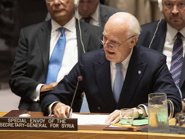 Samtal om framtida syrisk konstitution