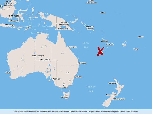 Tsunamivågor efter skalv i Stilla havet