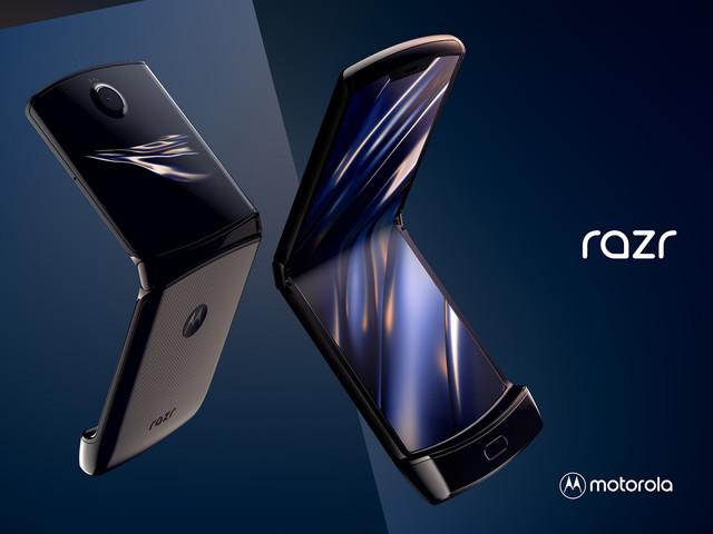 Motorola Razr tillbaka – med vikbar skärm