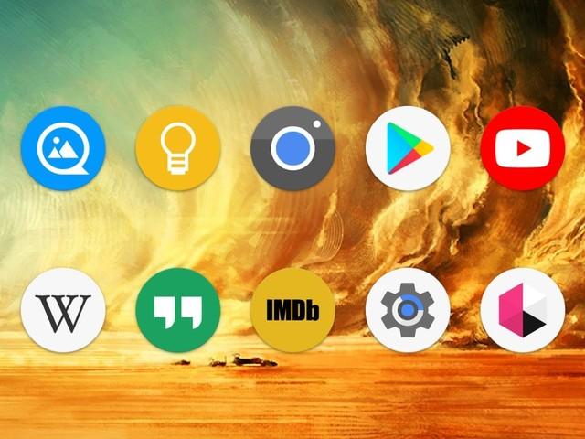 Använder du ikonpaket i din hemskärmsapp idag?