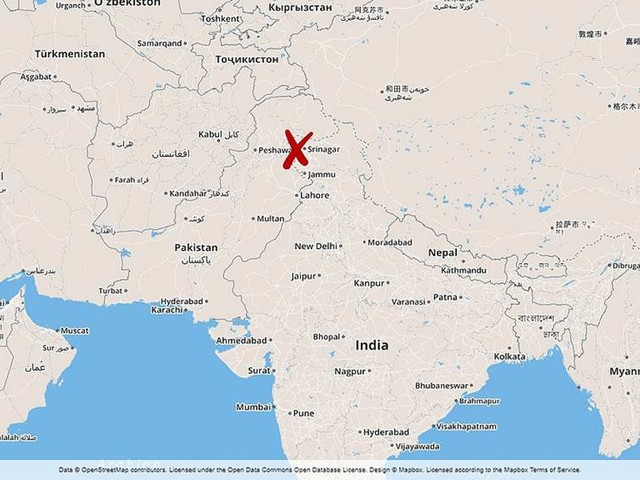Svensk omkom i lavin i Kashmir